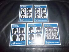 """THE BEATLES A HARD DAY'S NIGHT """"BEATLES CLASSIC"""" TRADING CARDS  FULL SET 5 CARDS"""