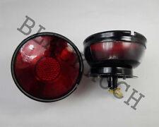 Rear Combination Tail Light Red fits Willys Jeep CJ3 CJ5 CJ6 CJ2A CJ3A CJ3B 12V