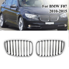 For 2010-2016 BMW 5 series GT F07 528i 535i 550i Chrome+Black Car Racing Grilles