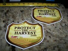 Protect The Harvest - Contingency Sticker -  NHRA Event Sticker