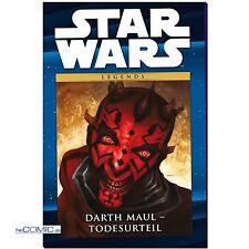 Star Wars cómic colección 11 Darth Maul sentencia de muerte redondo HC Panini nuevo