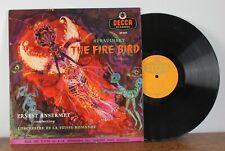 Stravinsky The fire bird Ernest Ansermet Decca LXT 5115 Made in England