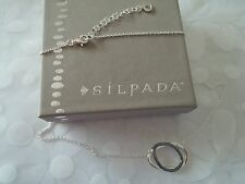 SILPADA .925 Sterling Silver ALL-AROUND CHIC Necklace 18-20 IN. LONG N3333 NIB