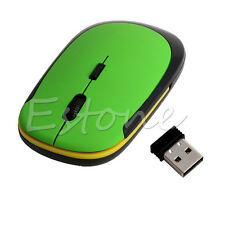 Ultra-Slim Mini USB 2.4G 2.4GHZ Wireless Optical Mouse Mice 1600 DPI