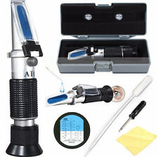 ATC Glycol Refractometer Car Antifreeze Battery Acid Engine Coolant Tester dc