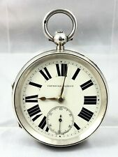 LARGE OLSWANG SUNDERLAND FUSEE IMPROVED PATENT POCKET WATCH *** CHESTER 1892 ***