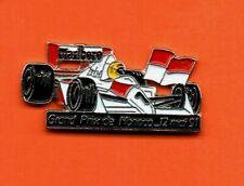 Pin's lapel pin FORMULE 1 F1 GRAND PRIX DE MONACO 91 SENNA  Mc LAREN #1 MARLBORO