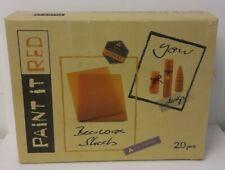 Paint it red - cire d'abeille  100% pure certifiée - 20 plaques en cire