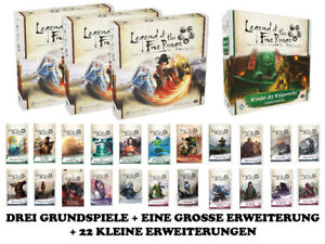 Legend of the Five Rings - Das Kartenspiel - Megabundle - LCG - 1A-Ware