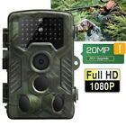 20MP 1080P Hunting Camera Trail Outdoor Wildlife Game Cam No Glow Night Vision