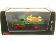 Borgward B2500 Customer Care (Service) with Messerschmitt Bubble Car