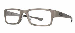 Oakley Rx Eyeglasses Frames OX8046-1257 57-18-143 Airdrop Satin Lead