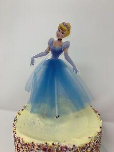 Cinderella Princess Cake Topper Kids Girls  Birthday Party decoration