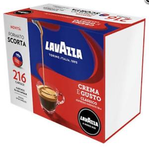 216 Kaffee kapseln Lavazza a modo mio CREMA E GUSTO  espresso
