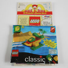Lego McDonald's Island Adventure Happy Meal Toy #6 SEALED w/ McD's Bag VTG 1999