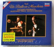 UN BALLO IN MASCHERA - PAVAROTTI, PRICE, BRUSON - SOLTI - 2CD Ltd. Ed. Sigillato