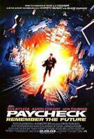 Paycheck (Einzel Seiten) Regulär) Original Filmposter