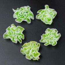 10/50Pcs Organza  Flowers Ribbon Headband Hair Appliques/Craft/Clothes/Wedding