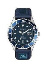 Kahuna Men's Blue Dial Rip Tape Strap Sports Style Watch - KUV0003G
