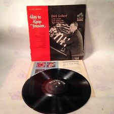 DICK LEIBERT Hits To Keep Forever LP RCA LPM 2910 mono original album Radio City