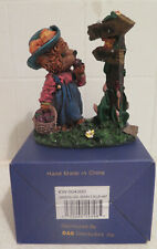Gerturde B Gable Hand Crafted Arts Garden Girl Bear