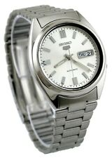 Seiko 5 SNXS73K Men's Stainless Steel Silver Dial Day Date Automatic Watch