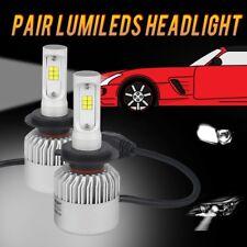 2PCS H7 Auto Hauptscheinwerfer Kit 72W LED Scheinwerfer Auto Birne 6000K 16000LM