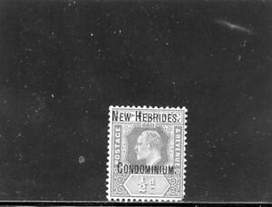 New Hebrides (Br) 1908 Scott# 1 mint og Hinged