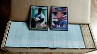 1985 Donruss Baseball Complete Set Clemens Puckett RC NRMT-MT Factory Set