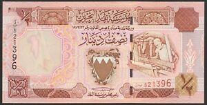 Bahrain 1/2 Dinar Pick 25 (1998) UNC