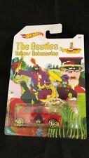 Hotwheels 2016 Morris Mini The Beatles Yellow Submarine