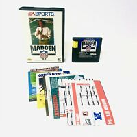 Madden NFL '94 for Sega Genesis with Case & Manual -Complete And TESTED!
