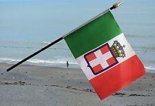 "ITALY STATE SMALL HAND WAVING FLAG 6""X4"" flags ITALIAN ITALIA"
