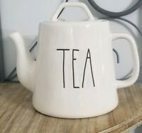 Rae Dunn Long Letter LL TEA Teapot NEW