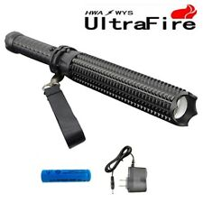 ULTRAFIRE 8000LM Mace Led CREE XM-L2 18650 Spiked Mace Baseball Bat  Flashlight