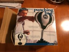 Perfect Solutions Executive Punching Bag Work Office Desk Top Spring Loaded Bag.
