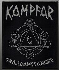 Kampfar - Trolldomssanger, gewebter Aufnäher / woven patch, 10 x 12 cm