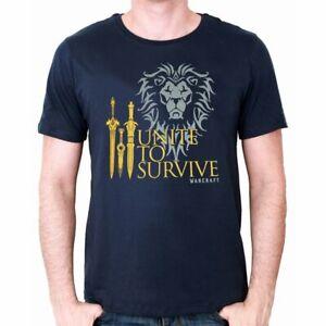 World Of Warcraft Unite to Survive T shirt Mens T shirt XX Large
