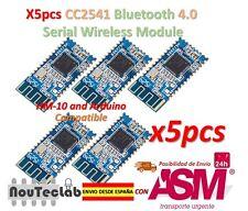 5pcs CC2541 4.0 BLE Bluetooth UART Transceiver Module CC2540 HM-10 iBeacon