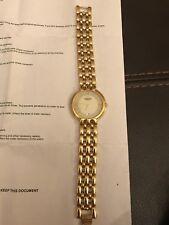 GENTS RAYMOND WEIL GOLD PLATED BRACELET WATCH 9138