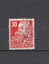 DDR, 335  v  Wz 2 XII BPP geprüft  Köpfe II,  gestempelt, siehe Scan  (2)