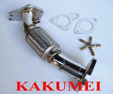 Kakumei Stainless Steel Flex Uppipe Up Pipe for Subaru Impreza 98 99 00 01 GC8