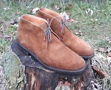 CHURCH'S Ryder 3 - Suede desert boots . Made in England