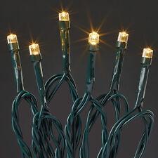 LED Lichterkette 80 warmweiße LEDs HELLUM 560831 für innen+außen 17,9m