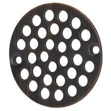 Designers Impressions Oil Rubbed Bronze Screw-In Shower Drain Strainer #651816
