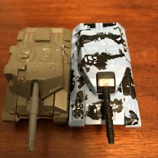 Lot of 2 Different Transformers Action Figure Tanks