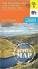 Explorer Active OL5 The English Lakes North Eastern Area Map With Digital Versi