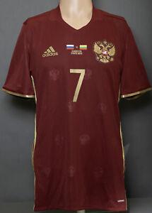 Russia National Team Player Issue Match Worn Jersey Shirt Soccer football FIFA