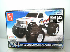 NEW USA-1 MONSTER TRUCK Model Kit - AMT Snapit Snaptite Snap  Bigfoot Competitor