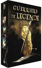 """Coffret 3DVD neuf sous blister """"guerriers de légende - 300 + 10 000 + TROIE"""""""